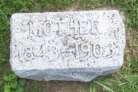 AHRENHOLTZ, MOTHER - Shelby County, Iowa   MOTHER AHRENHOLTZ