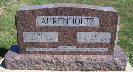 AHRENHOLTZ, SALLIE - Shelby County, Iowa   SALLIE AHRENHOLTZ