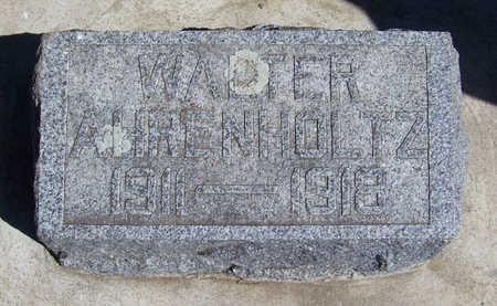AHRENHOLTZ, WALTER - Shelby County, Iowa   WALTER AHRENHOLTZ