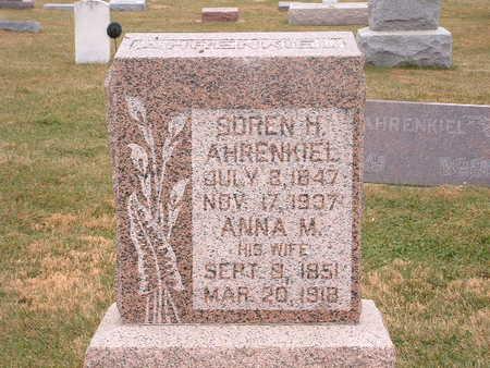 AHRENKIEL, ANNA M - Shelby County, Iowa | ANNA M AHRENKIEL