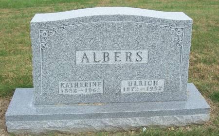 ALBERS, KATHERINE - Shelby County, Iowa | KATHERINE ALBERS