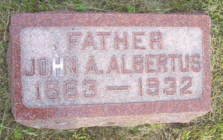 ALBERTUS, JOHN A. - Shelby County, Iowa | JOHN A. ALBERTUS
