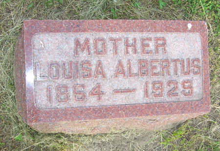 ALBERTUS, LOUISA - Shelby County, Iowa | LOUISA ALBERTUS