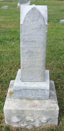 ALLEN, ANDREW J. - Shelby County, Iowa   ANDREW J. ALLEN