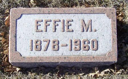 ALLOWAY, EFFIE M. - Shelby County, Iowa   EFFIE M. ALLOWAY