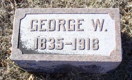 ALLOWAY, GEORGE W. - Shelby County, Iowa | GEORGE W. ALLOWAY