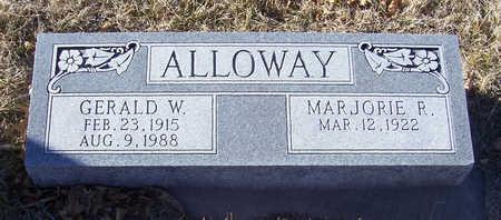 ALLOWAY, MARJORIE R. - Shelby County, Iowa | MARJORIE R. ALLOWAY