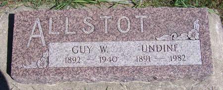 ALLSTOT, GUY W. - Shelby County, Iowa | GUY W. ALLSTOT