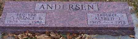 ANDERSEN, ALFRED J - Shelby County, Iowa | ALFRED J ANDERSEN