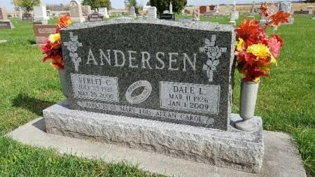 CHRISTENSEN ANDERSEN, VERLEE C. - Shelby County, Iowa | VERLEE C. CHRISTENSEN ANDERSEN