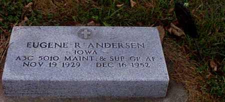 ANDERSEN, EUGENE R - Shelby County, Iowa | EUGENE R ANDERSEN
