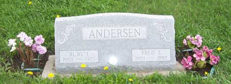 ANDERSEN, FREDERICK EHLERT - Shelby County, Iowa | FREDERICK EHLERT ANDERSEN