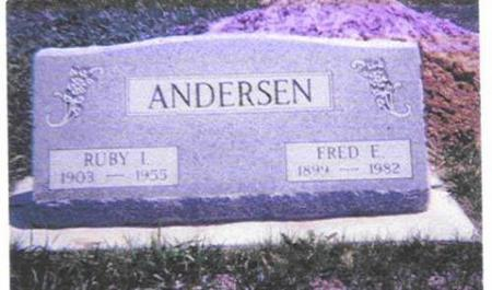 ANDERSEN, FREDERICK E. AND RUBY I. - Shelby County, Iowa | FREDERICK E. AND RUBY I. ANDERSEN