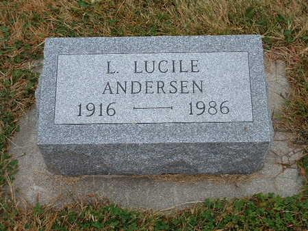 ANDERSEN, L LUCILE - Shelby County, Iowa | L LUCILE ANDERSEN
