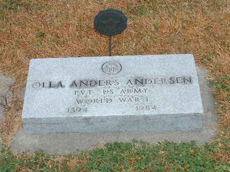 ANDERSEN, OLLA ANDERS - Shelby County, Iowa   OLLA ANDERS ANDERSEN
