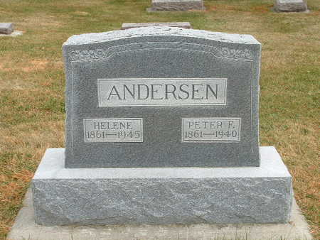 ANDERSEN, PETER F. - Shelby County, Iowa | PETER F. ANDERSEN