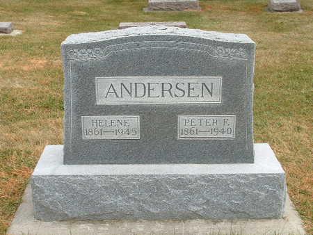 ANDERSEN, HELENE - Shelby County, Iowa | HELENE ANDERSEN