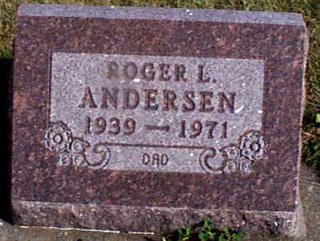 ANDERSEN, ROGER L. - Shelby County, Iowa   ROGER L. ANDERSEN