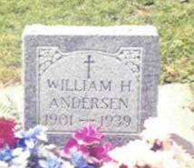 ANDERSEN, WILLIAM H. - Shelby County, Iowa | WILLIAM H. ANDERSEN