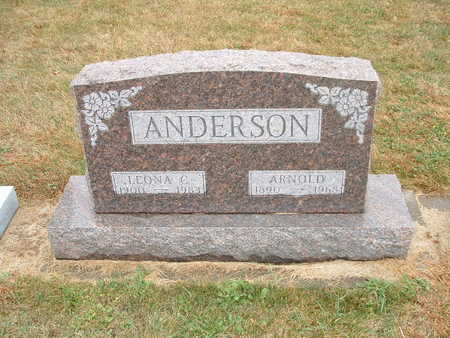 ANDERSON, ARNOLD - Shelby County, Iowa   ARNOLD ANDERSON