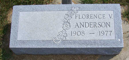 ANDERSON, FLORENCE V. - Shelby County, Iowa | FLORENCE V. ANDERSON
