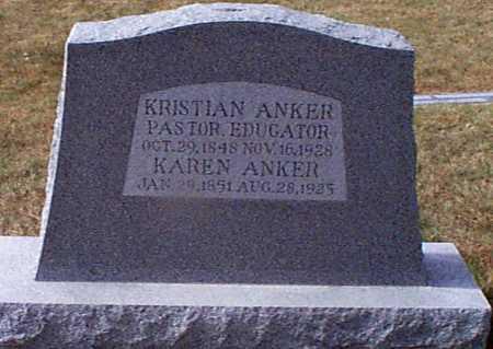ANKER, KAREN - Shelby County, Iowa | KAREN ANKER