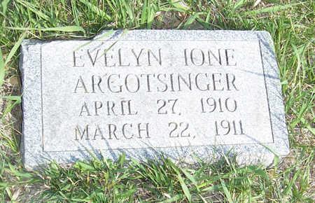 ARGOTSINGER, EVELYN IONE - Shelby County, Iowa | EVELYN IONE ARGOTSINGER