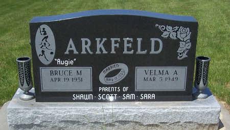 ARKFELD, VELMA A. - Shelby County, Iowa   VELMA A. ARKFELD