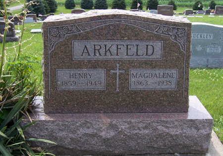 BLUM ARKFELD, MAGDALENE - Shelby County, Iowa | MAGDALENE BLUM ARKFELD
