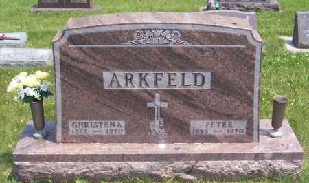ARKFELD, CHRISTENA - Shelby County, Iowa | CHRISTENA ARKFELD