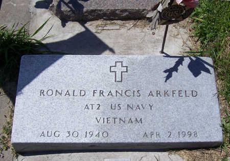 ARKFELD, RONALD FRANCIS - Shelby County, Iowa | RONALD FRANCIS ARKFELD