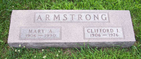ARMSTRONG, MARY A. - Shelby County, Iowa | MARY A. ARMSTRONG