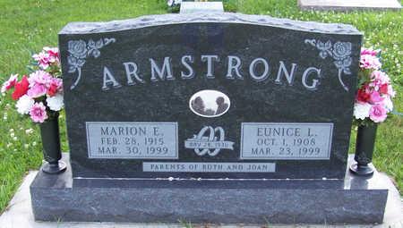 ARMSTRONG, MARION E. - Shelby County, Iowa | MARION E. ARMSTRONG
