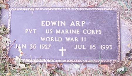ARP, EDWIN (MILITARY) - Shelby County, Iowa   EDWIN (MILITARY) ARP