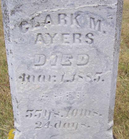 AYERS, CLARK M. - Shelby County, Iowa | CLARK M. AYERS