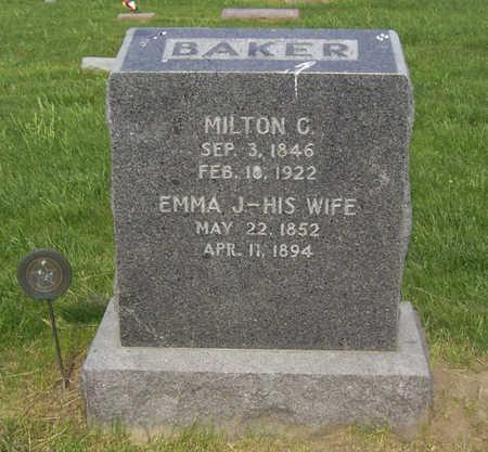 BAKER, EMMA J. - Shelby County, Iowa | EMMA J. BAKER