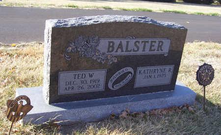 BALSTER, THEODORE W.