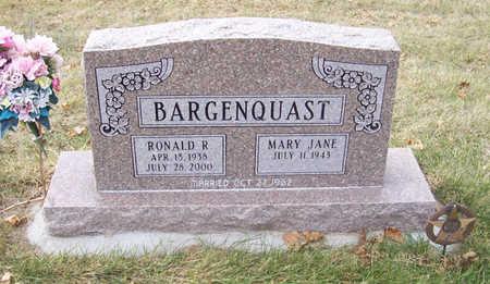 BARGENQUAST, MARY JANE - Shelby County, Iowa | MARY JANE BARGENQUAST