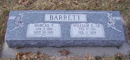 BARRETT, WILLIAM G., SR. - Shelby County, Iowa | WILLIAM G., SR. BARRETT