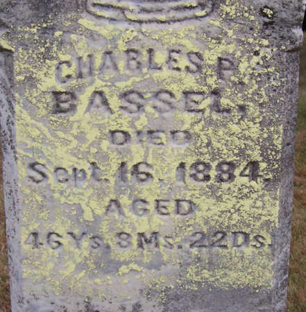 BASSEL, CHARLES P. (CLOSE-UP) - Shelby County, Iowa | CHARLES P. (CLOSE-UP) BASSEL