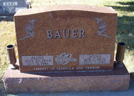BAUER, ALOIS - Shelby County, Iowa | ALOIS BAUER