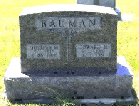 BAUMAN, EDWARD H. - Shelby County, Iowa | EDWARD H. BAUMAN