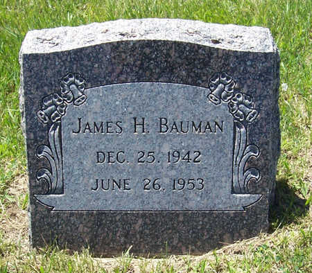 BAUMAN, JAMES H. - Shelby County, Iowa | JAMES H. BAUMAN