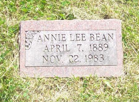 BEAN, ANNIE LEE - Shelby County, Iowa | ANNIE LEE BEAN
