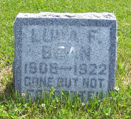 BEAN, LULA F. - Shelby County, Iowa | LULA F. BEAN