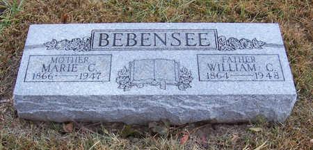 BEBENSEE, WILLIAM C. (FATHER) - Shelby County, Iowa | WILLIAM C. (FATHER) BEBENSEE