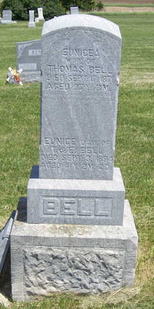 BELL, EUNICE A. - Shelby County, Iowa | EUNICE A. BELL