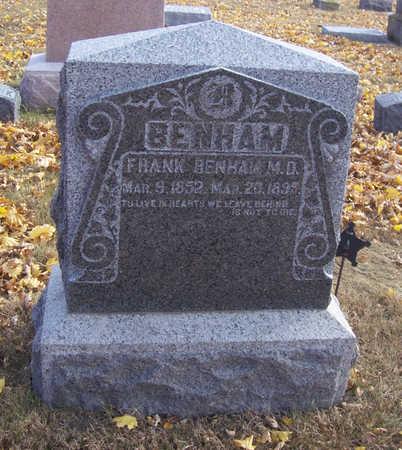 BENHAM, FRANK (M.D.) - Shelby County, Iowa | FRANK (M.D.) BENHAM