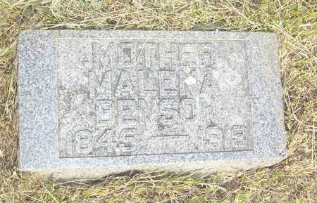 BENSON, MALENA - Shelby County, Iowa | MALENA BENSON