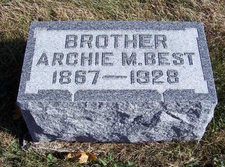 BEST, ARCHIE M. - Shelby County, Iowa | ARCHIE M. BEST